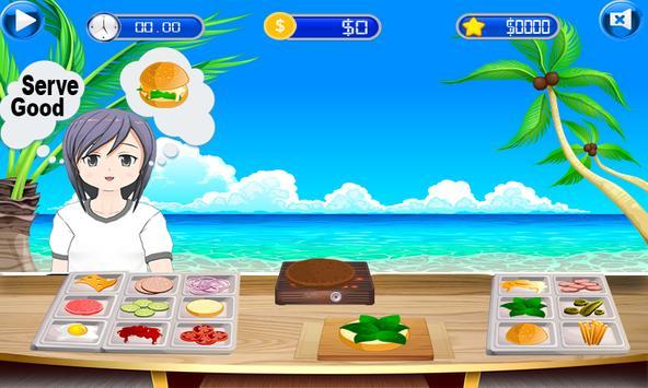Fun Kitchen Chef– 2D Fast Food Burger Cooking Game screenshot 6