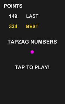 TapZag Numbers poster