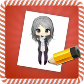 How to Draw :Chibi icon