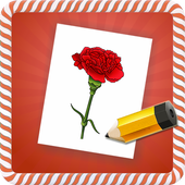 How To Draw :Flowers icon