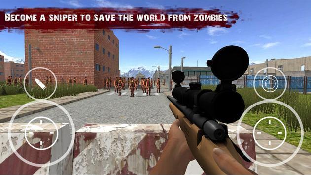 Target Sniper Zombie Frontline screenshot 3