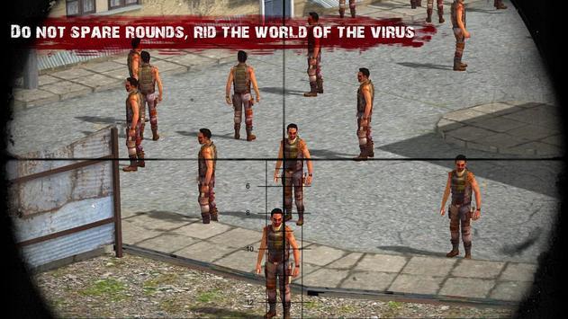 Target Sniper Zombie Frontline screenshot 7