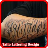 Tatto Lettering Design icon