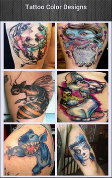 Tattoo Color Designs screenshot 1