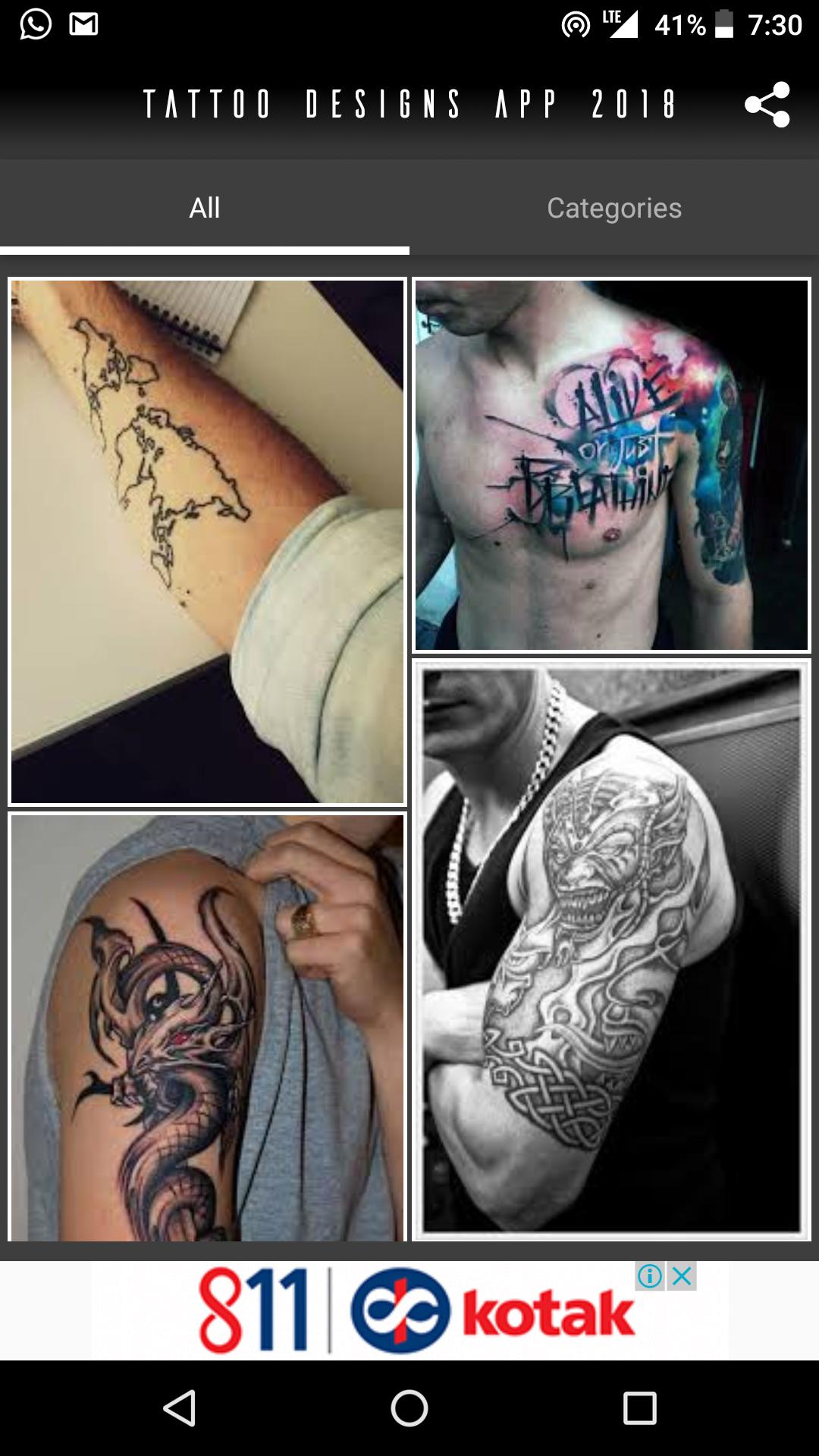 Tattoo Designs App For Android Apk Download