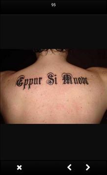 Tattoo Lettering Design screenshot 3