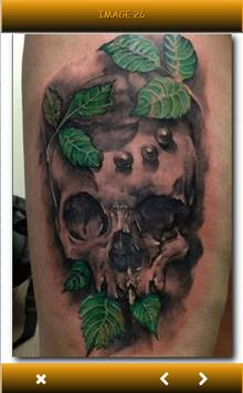 Tattoo Skulls 3D Ideas apk screenshot