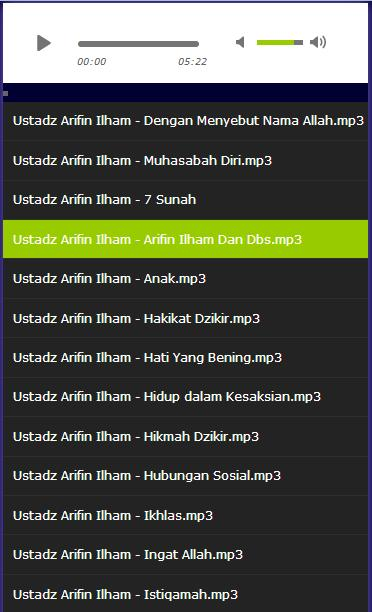 Muhammad arifin ilham mp3 for android apk download.