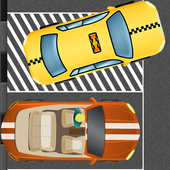 taxi parking game 2 icon