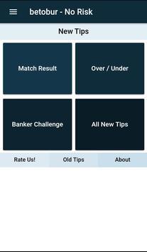 betobur NoRisk - Betting Tips poster