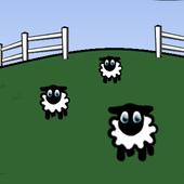 Sheep Dog Trial 2D Free icon