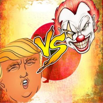 Killer Clown Trump poster