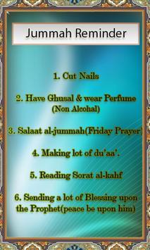 Jummah Sunnah apk screenshot
