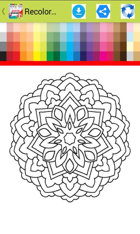Recolor Coloring Book App 2018 Screenshot 6