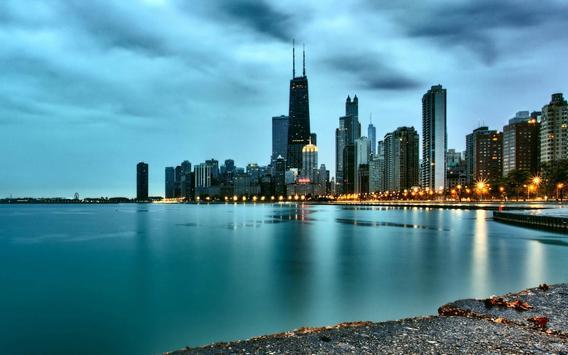 Chicago Live Wallpaper Captura De Pantalla La Apk