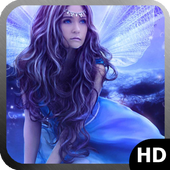 Blue Fairy Wallpaper icon