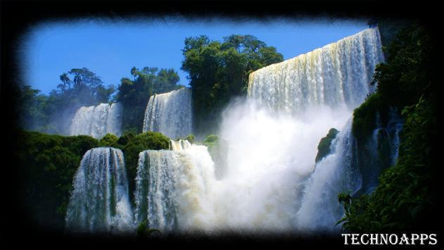 Forest Waterfall Wallpaper apk screenshot