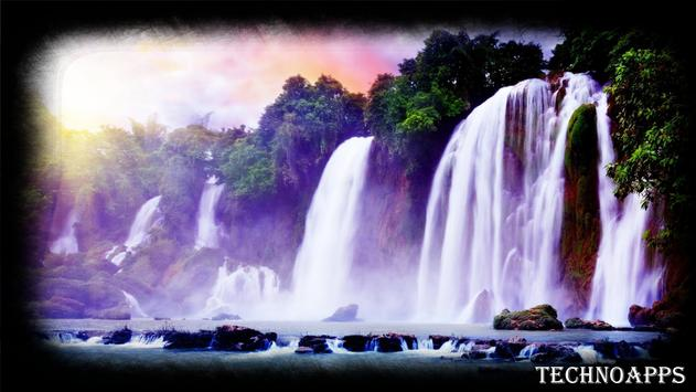 Forest Waterfall Wallpaper apk screenshot