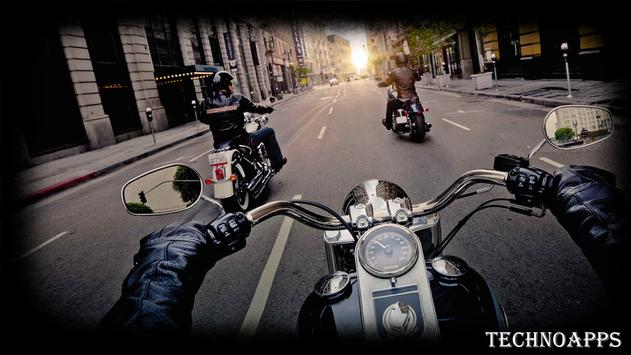 Motorcycle Traffic Wallpaper apk screenshot