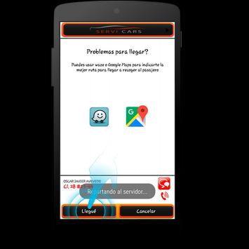 Servi Cars Conductores screenshot 2