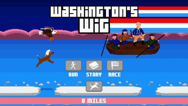 Washington's Wig poster