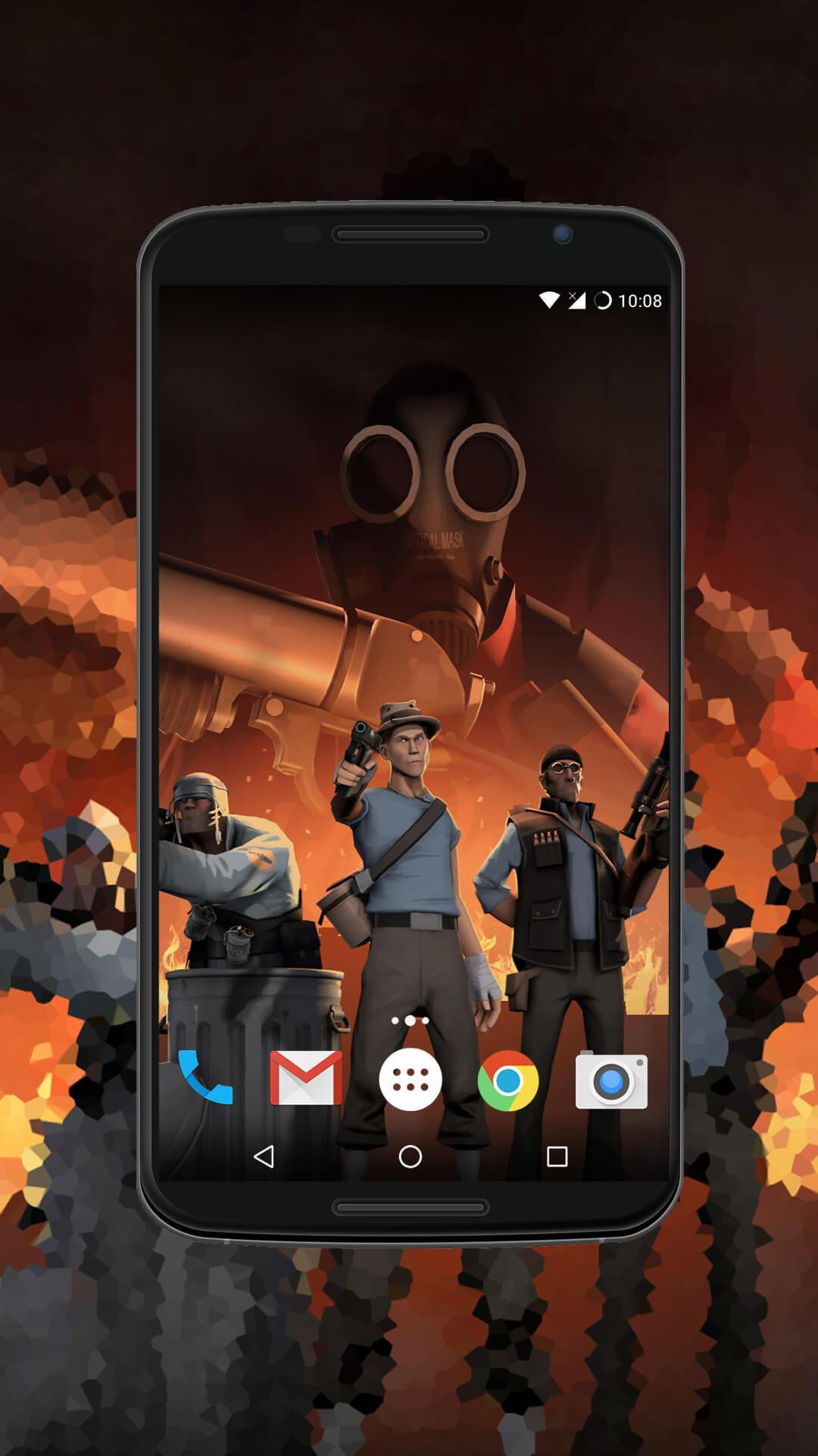 android team fortress 2 background
