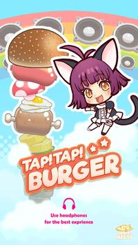 TapTap Burger-funny,cute,music poster