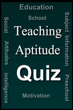 Teaching Aptitude Test poster