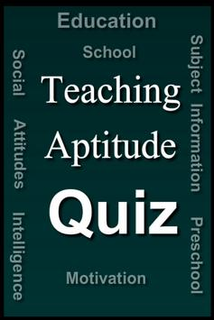Teaching Aptitude Test poster
