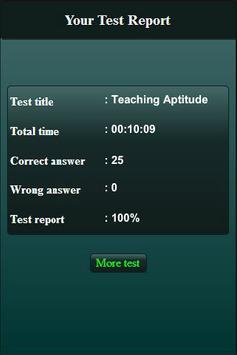 Teaching Aptitude Test screenshot 13