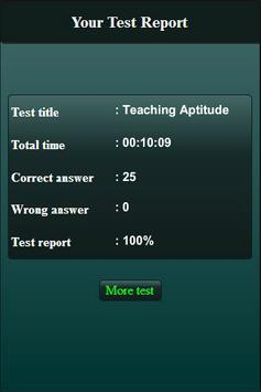 Teaching Aptitude Test screenshot 13