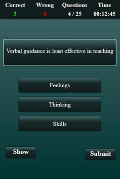 Teaching Aptitude Test screenshot 12