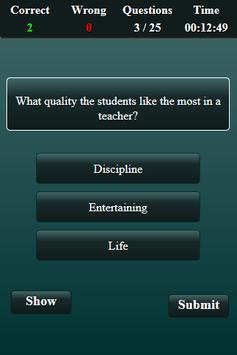 Teaching Aptitude Test screenshot 18
