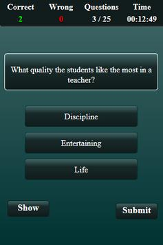 Teaching Aptitude Test screenshot 18