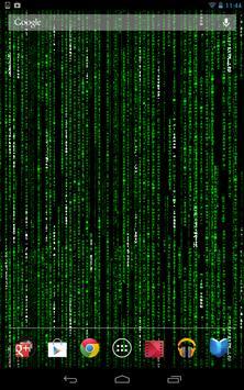 Matrix Live Wallpaper Apk Screenshot