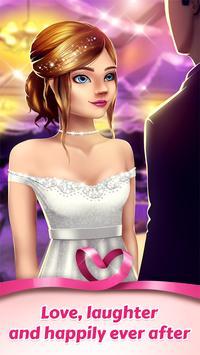 Игры про любовь для девочек - любовная история скриншот приложения