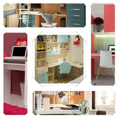 Teen Desk Design Ideas icon
