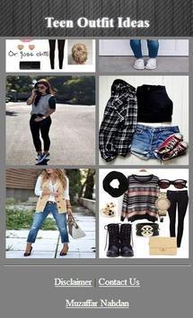 Teen Outfits Ideas screenshot 1