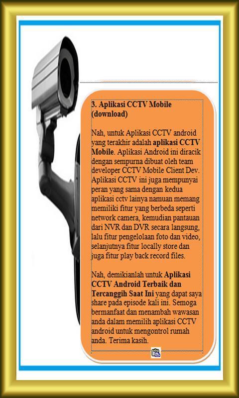 Panduan Aplikasi Cctv Mobile For Android Apk Download