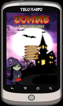Zombie Bubble Bomber shooter screenshot 1