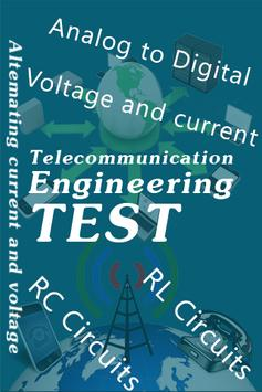 Telecommunication Engineering Quiz poster