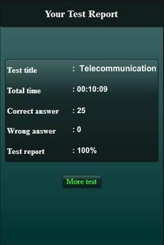 Telecommunication Engineering Quiz screenshot 4