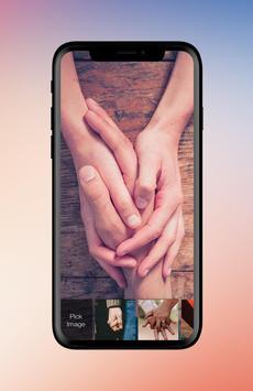 Love Hand Hold Travel Couple Valentine App Lock Screenshot 2