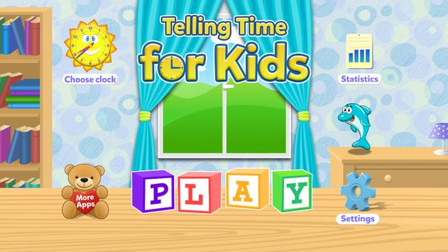Telling Time Games For Kids poster