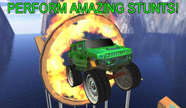4x4 Monster Truck Stunts 3D screenshot 1