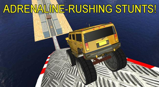 4x4 Monster Truck Stunts 3D screenshot 8