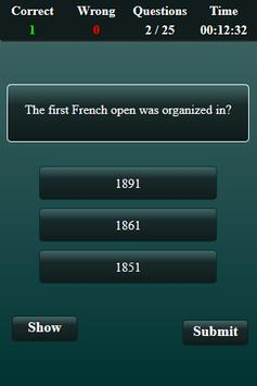 Quiz: Tennis screenshot 3