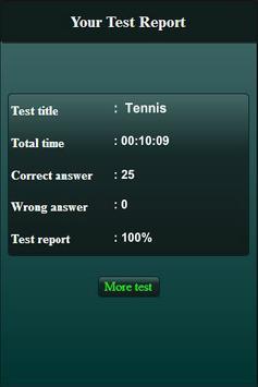 Quiz: Tennis screenshot 9