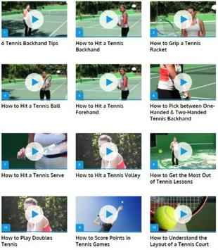 Tennis for Beginners poster