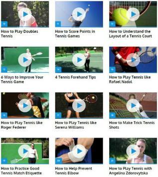 Tennis for Beginners apk screenshot